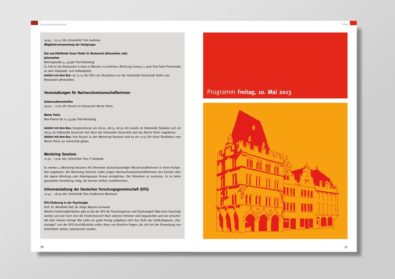 Harald Oehlerking Gestaltung für die Universität Trier