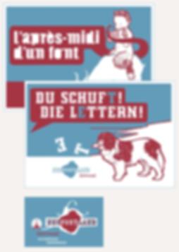 Harald Oehlerking Gestaltung Schriftversand NeuFontLand