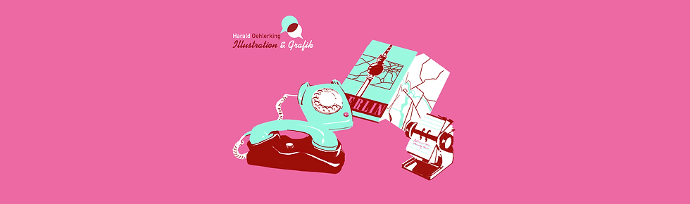 Harald Oehlerking | Illustration | Grafik | Berlin | Kontakt