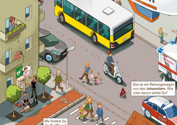 Harald Oehlerking Berlin Ratiopharm #10000LebenRetten Illustration