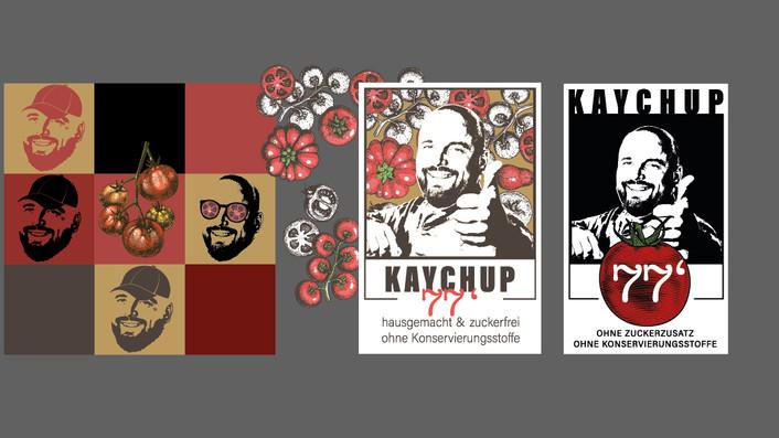 Farbpalette – Entwürfe erster Etiketten