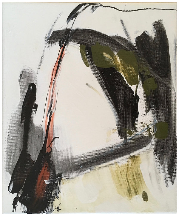 Tableau, acrylique sur toile, 25.5 x 30.5 cm