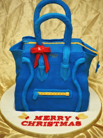 Celine Bag Christmas Cake