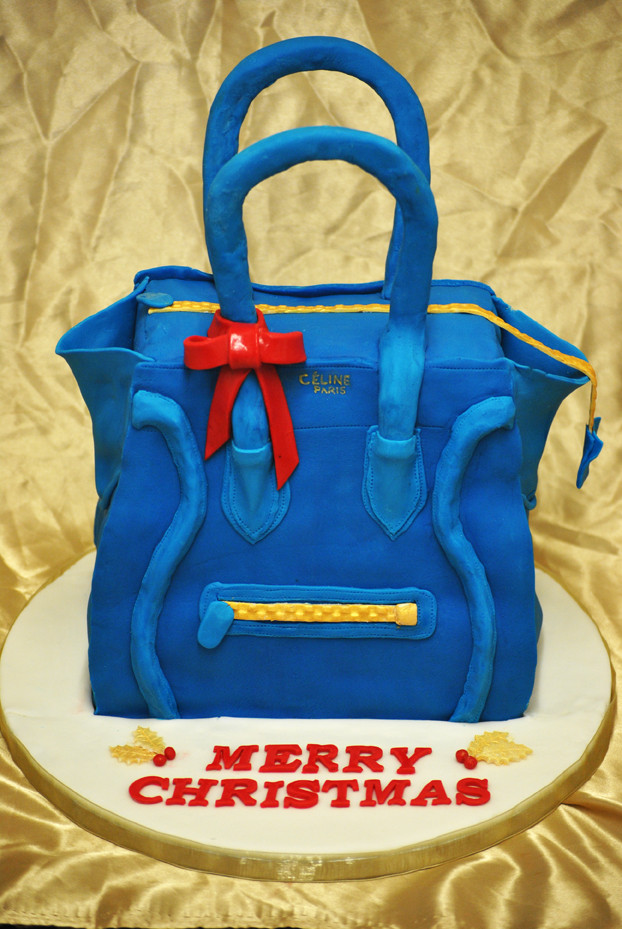 Celine Bag Christmas Cake