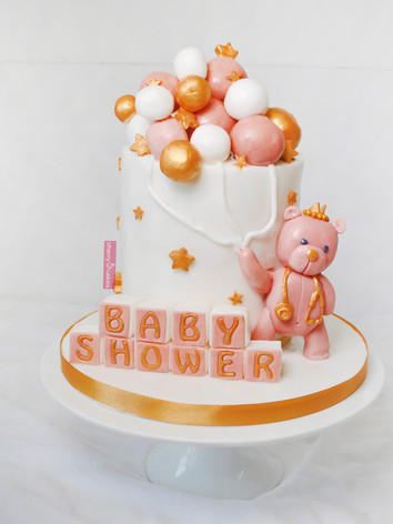 Baby Shower Blush Pink & Gold