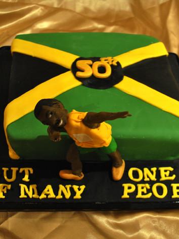 Usian Bolt Cake