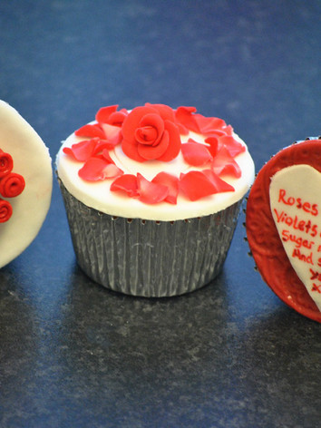 Valentines Roses & Heart