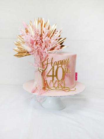 Blush Pink & Gold