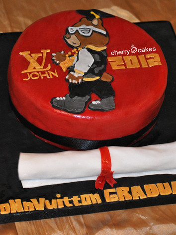 Graduation Kanye Cake