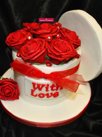 Valentines Rose Box