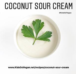 Coconut Sour Cream