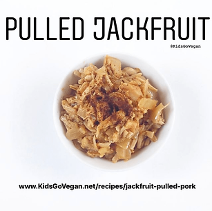 Jackfruit Pulled 'Pork""