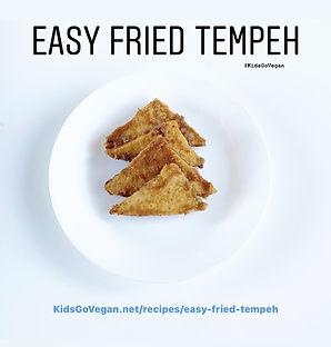 Easy Fried Tempeh