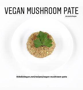 Vegan Mushroom Pate