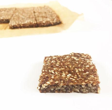 Soft Sesame Flax Squares
