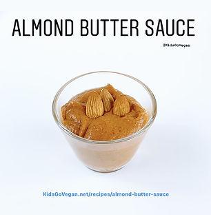 Almond Butter Sauce