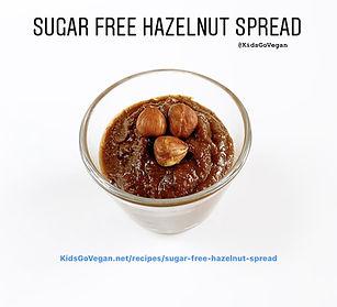 Sugar Free Hazelnut Spread