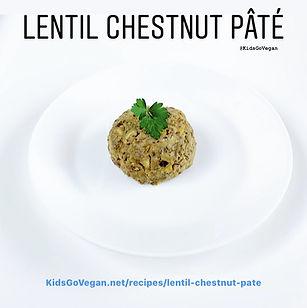 Lentil Chestnut Pate