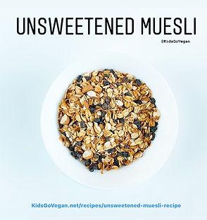 Unsweetened Muesli Recipe