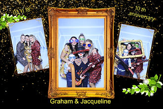 anniversary photo booth hire