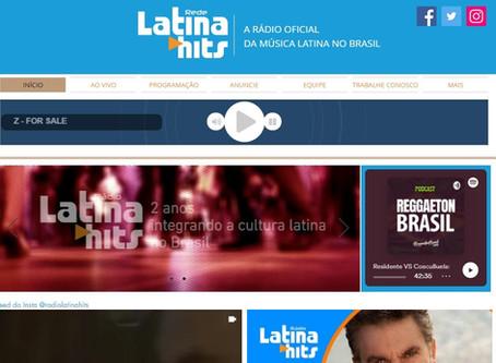 Site da Latina Hits passa por reformulação