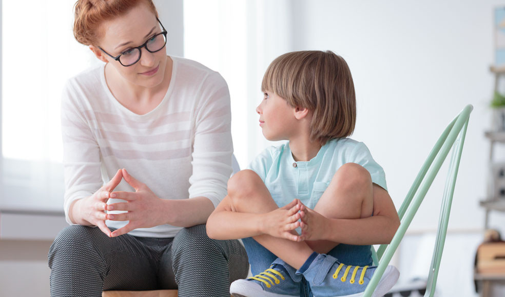Increase confidence and provide a structure when talking about difficult and painful feelings with children