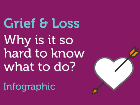 Grief & Loss - Why is it so hard to know what to do?