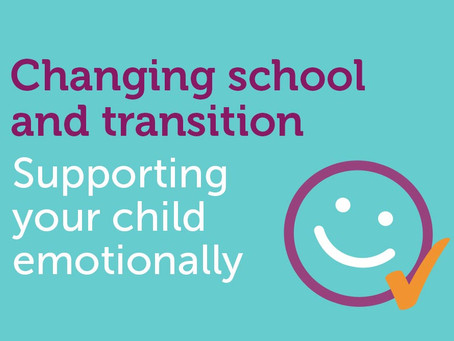 Quick guide to supporting children through school change