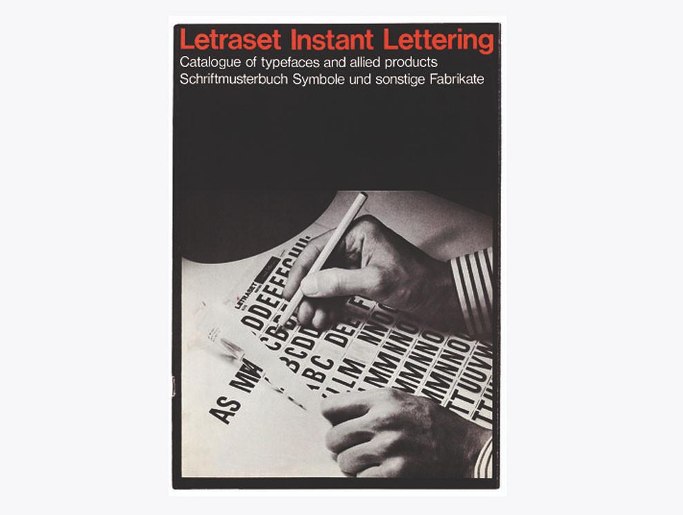 Letraset Catalogue - Image: eyemagazine.com