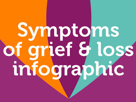 Infographic - The symptoms of grief and loss