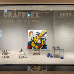 ALL THE RAGE 'GRAFFLEX SOLO EXHIBITION'