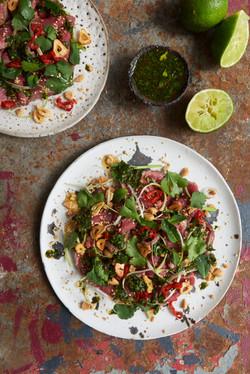 Vietnamese Beef Salad props