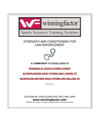 Law Enforcement Training System