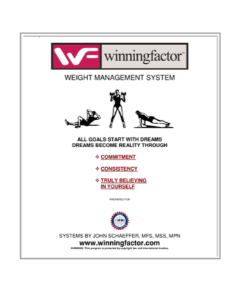 Weight Management Training System