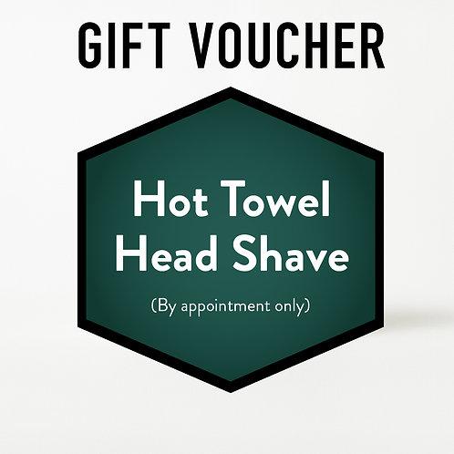 Gift Voucher - Hot Towel Head Shave