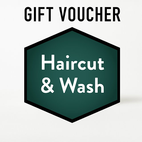 Gift Voucher - Haircut & Wash