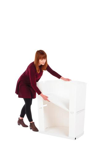 Rapido storage shelf