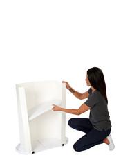 Finesse2 storage shelf