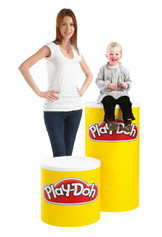 Swift 360 promotional display counter sizes