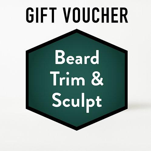 Gift Voucher - Beard Trim & Sculpt