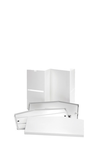 Action promotional display counter parts