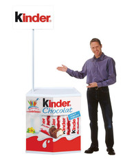 The Original promotional display counter without umbrella