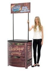 Demo Center promotional display counter