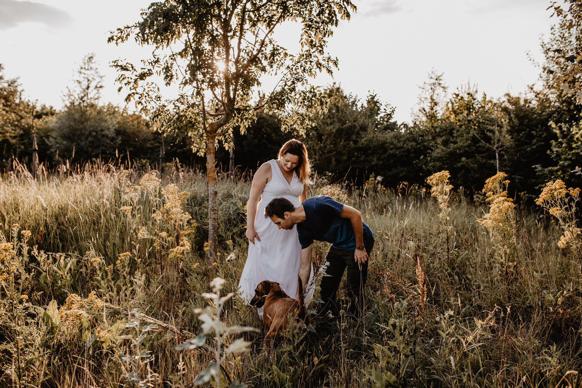 Zwangerschapsshoot loveshoot gezinsshoot
