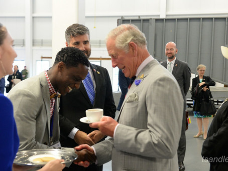 How- I Served Tea To The Prince Of Wales