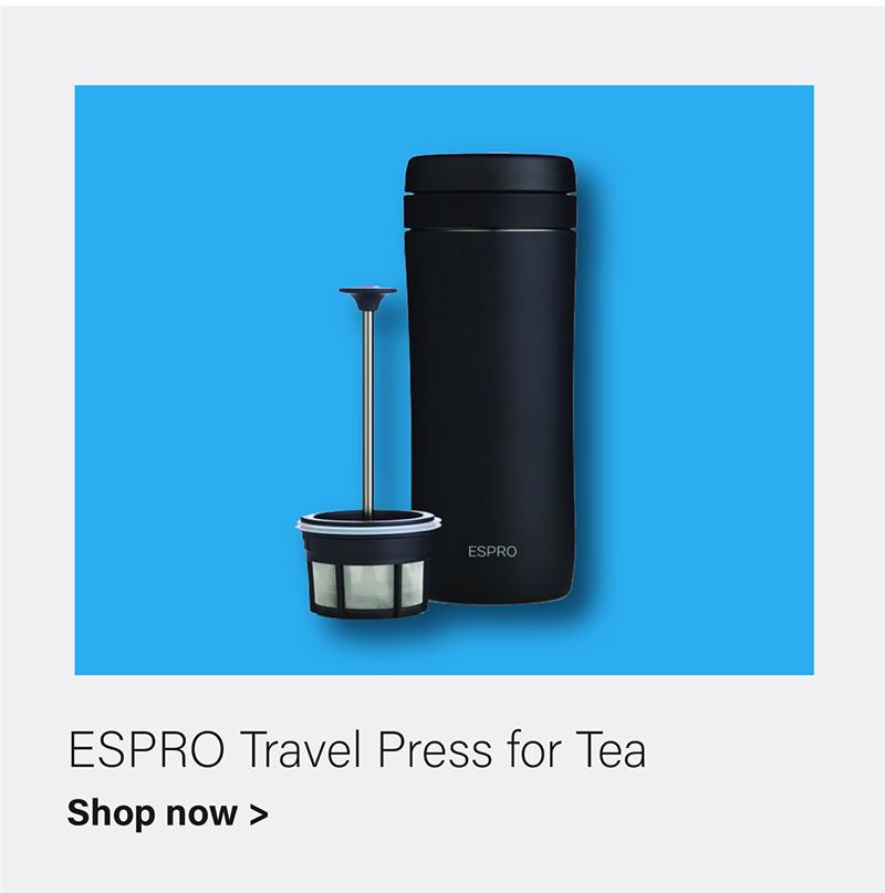 ESPRO Travel Press for Tea - Meteorite Black