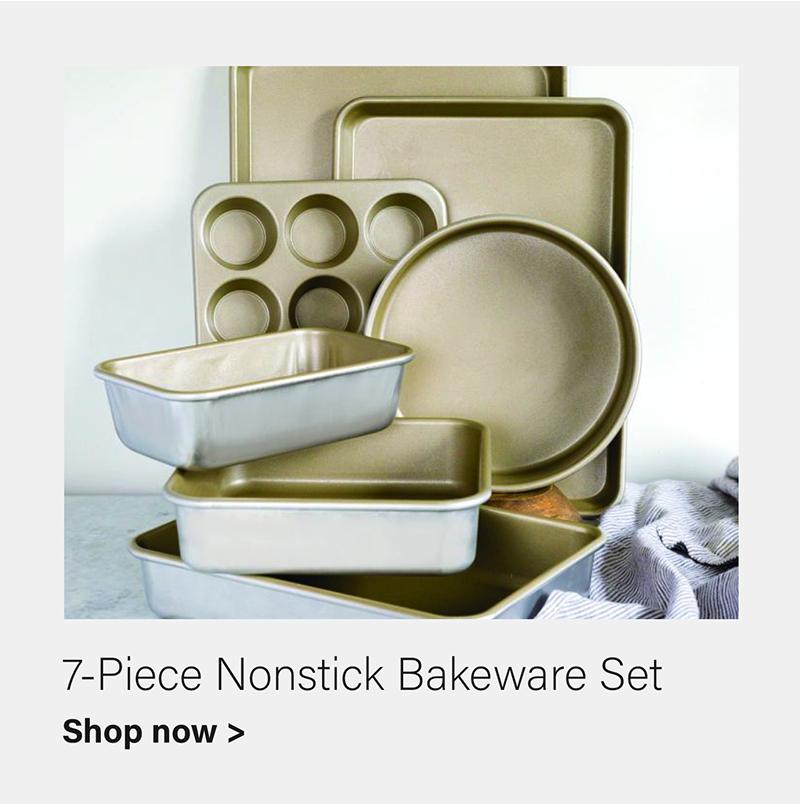 American Kitchen 7-Piece Nonstick Bakerware Set