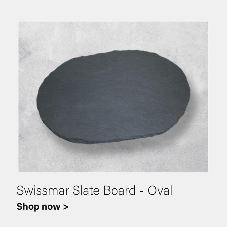 Swissmar Oval Slate Board