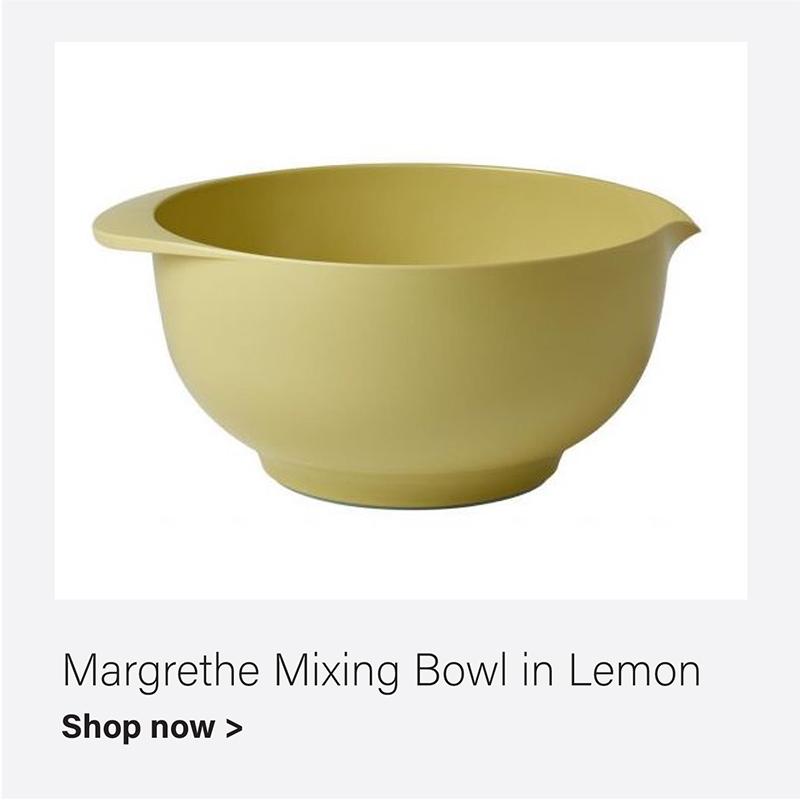 Margrethe Mixing Bowl in Lemon