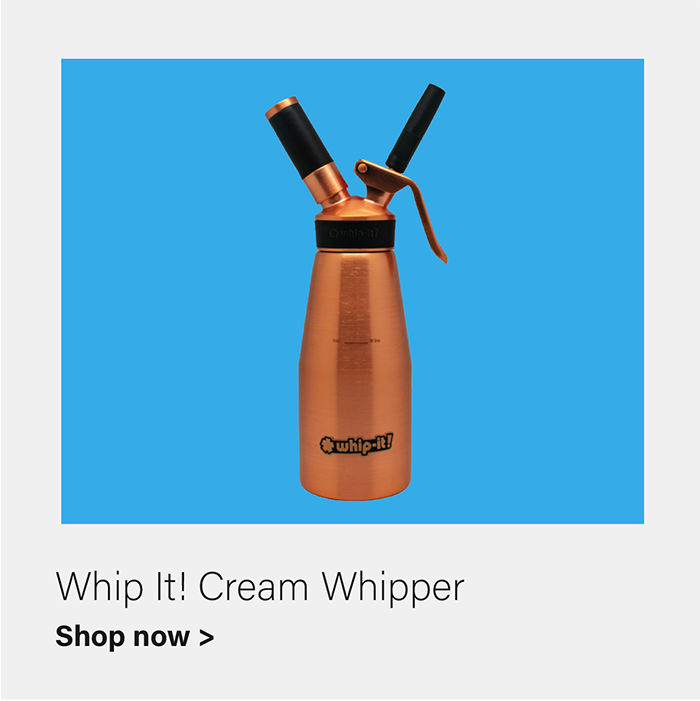 Whip-It! Stainless Steel Cream